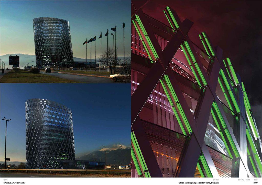 Ellipse center, Sofia- Bulgaria 04 collaboration LP Group