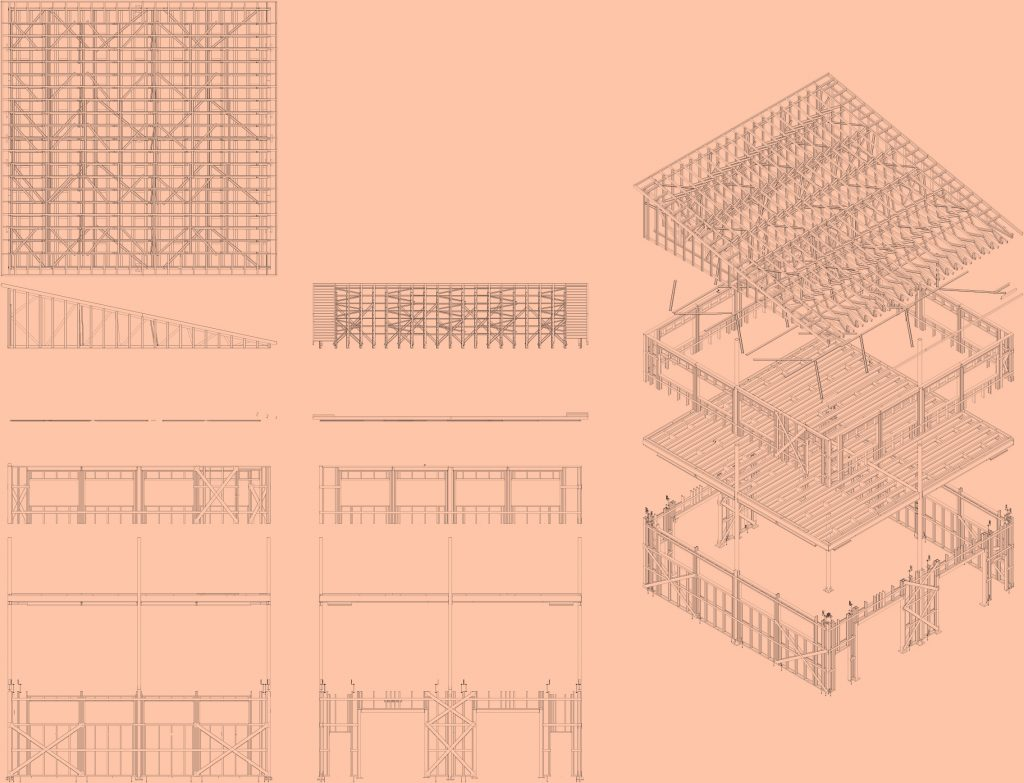 Barn-BIM steel stucture