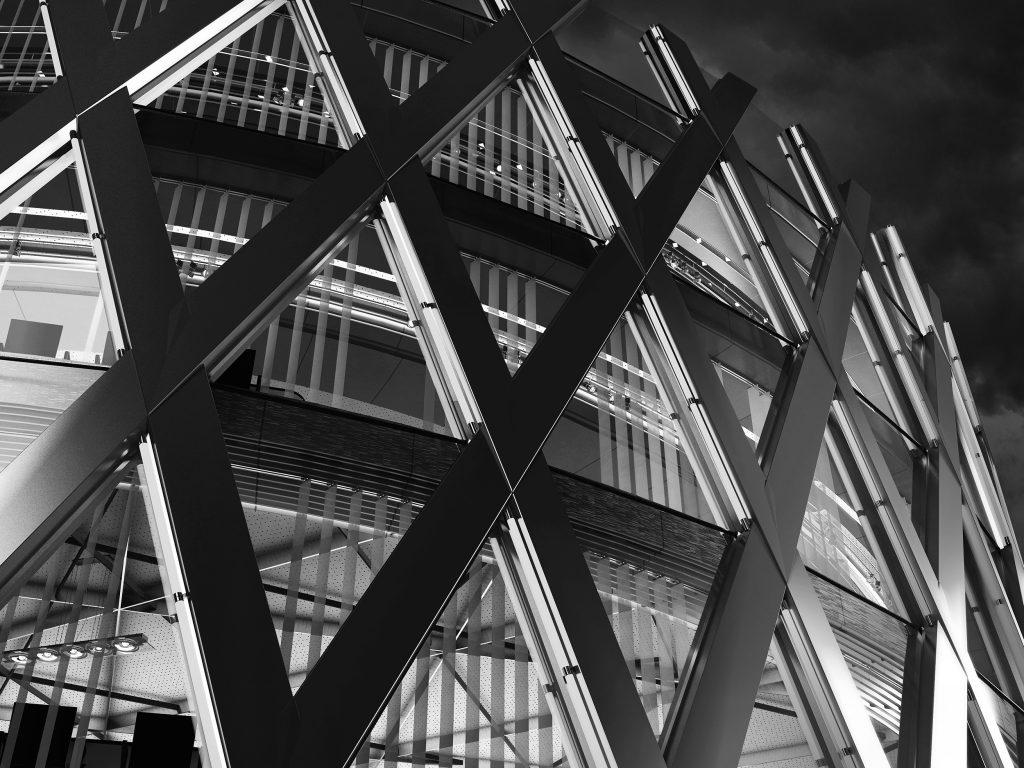 Office building, Ellipse center- collaboration LP group. 2007
