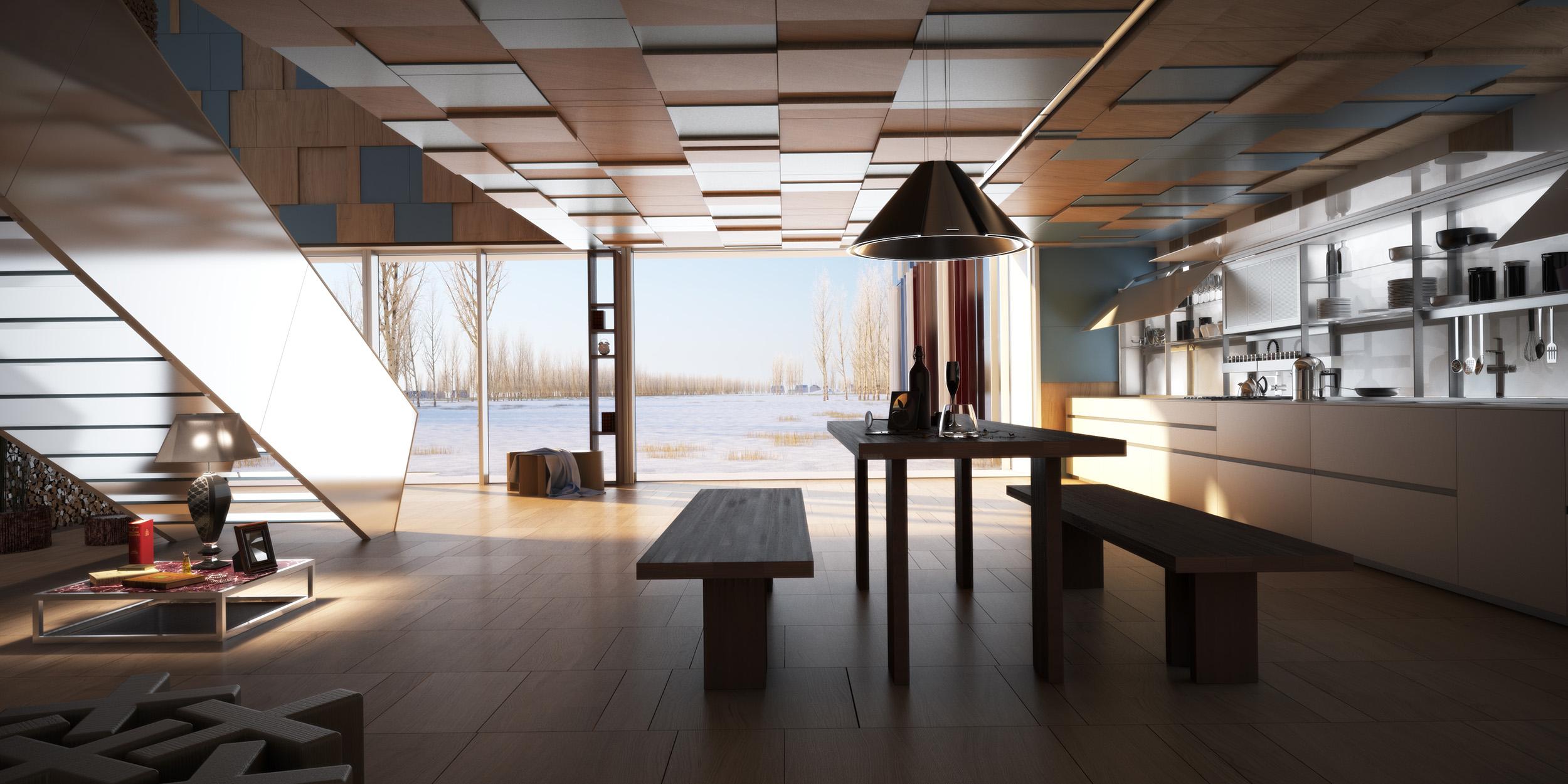 Valcucine kitchen- interior and product design