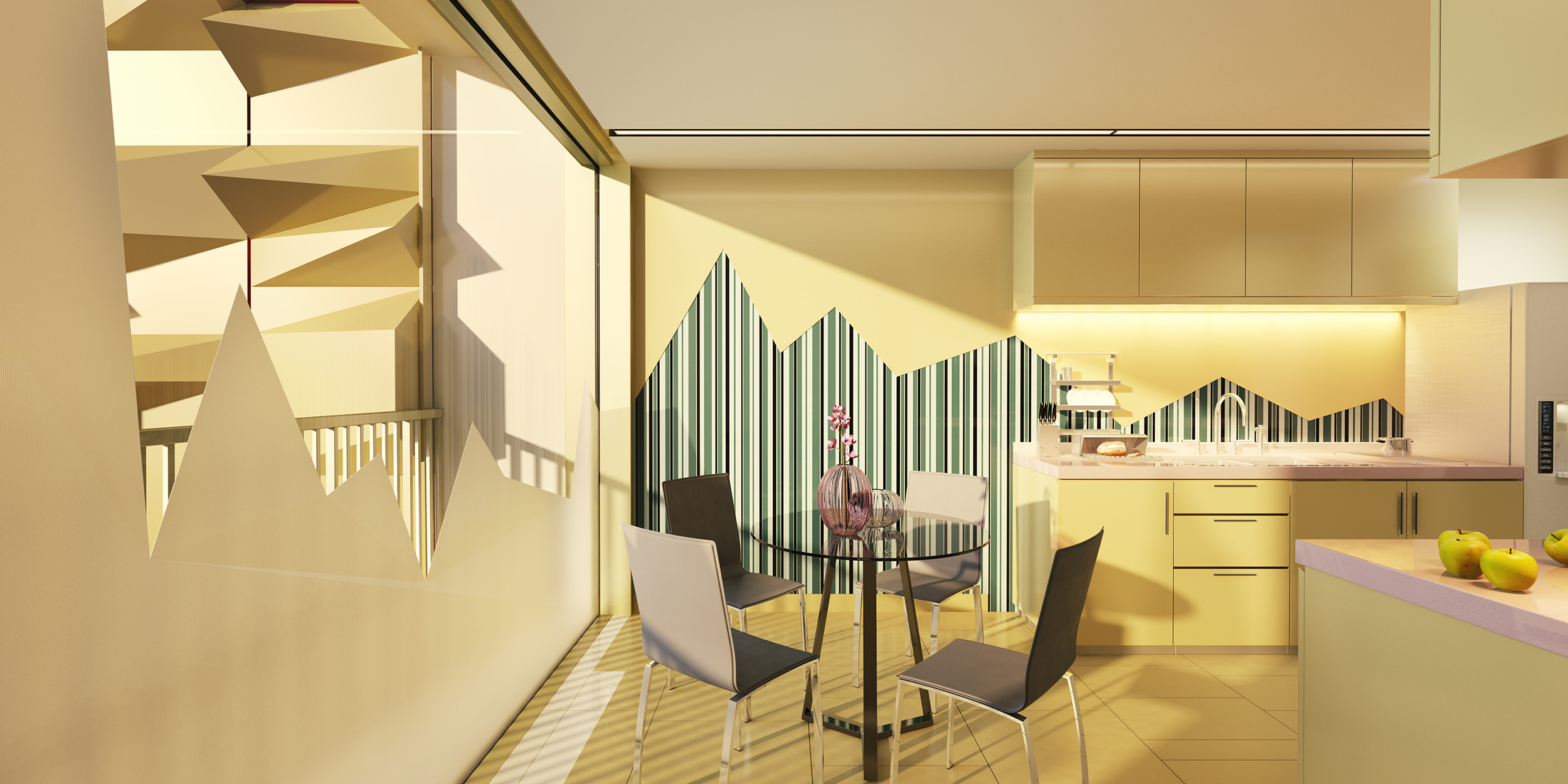 Appartment hotel- advertising project, no location